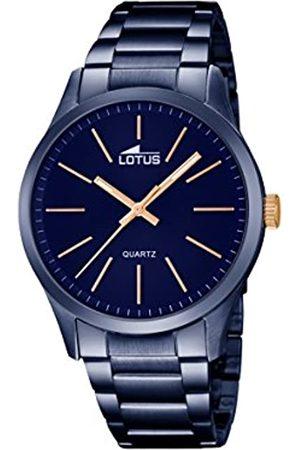Lotus Lotus Herren Analog Quarz Uhr mit Edelstahl Armband 18163/2