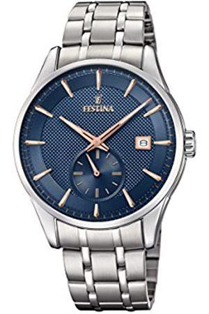Festina Festina Herren Analog Quarz Uhr mit Edelstahl Armband F20276/2
