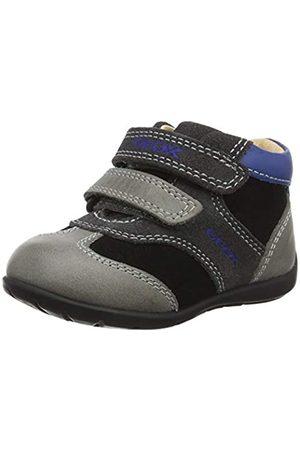 Geox Geox Baby Jungen B Kaytan A Sneaker, Grau (Black/Dk Grey C0005)