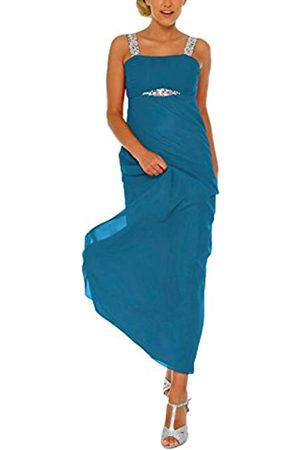 Astrapahl Astrapahl Damen Cocktail Kleid mit Pailletten, Maxi, Einfarbig, Gr. 32