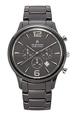 ARGONAU Argonau Unisex Erwachsene Analog Quarz Uhr mit Keramik Armband AU1002