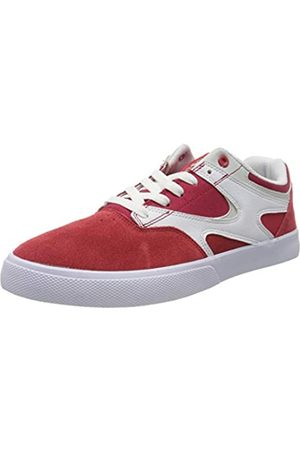 DC DC Shoes Herren Kalis Vulc Skateboardschuhe, Blau (Red/White Rdw)