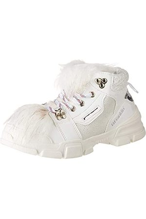 D.franklin D. Franklin Damen Treckton Sneaker, Weiß (Blanco 0001)