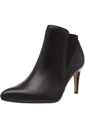 Clarks Damen Laina Violet Stiefeletten Kurzschaft Stiefel, (Black Leather)