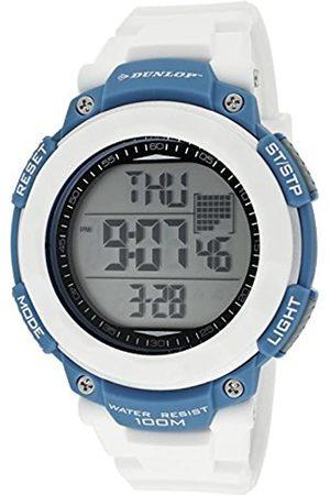 Dunlop Dunlop Unisex Erwachsene Digital Quarz Uhr mit Gummi Armband DUN210G11
