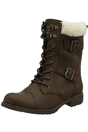 Rocket Dog Damen Billie Combat Boots Stiefel, (Brown C00)