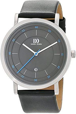 Danish Design Danish Design Herren Analog Quarz Uhr mit Leder Armband 3314530