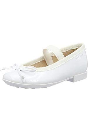 Geox Geox Mädchen JR PLIE' I Geschlossene Ballerinas, Weiß (Whitec1000)