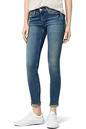 Tommy Hilfiger Tommy Jeans Damen Mid Rise Nora Skinny Jeanshose Blau (Royal Blue Stretch 911)