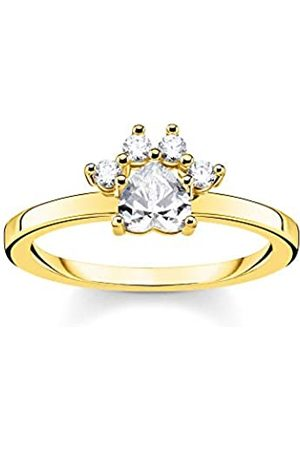 Thomas Sabo THOMAS SABO -Ringe Silber_vergoldetzirkonia '- Ringgröße 52 TR2289-414-14-52