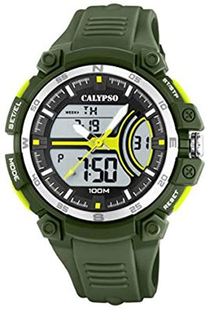 Calypso watches CalypsoWatchesHerrenAnalog-DigitalQuarzUhrmitPlastikArmbandK5779/4