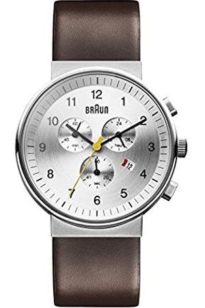 von Braun Braun Unisex Chronograph Quarz Armbanduhr BN0035SLBRG