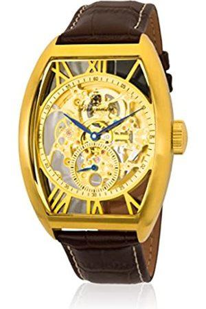 Burgmeister Burgmeister Herren Analog Automatik Uhr mit Leder Armband BM228-215