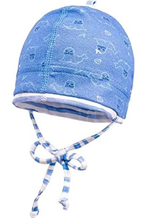 maximo Maximo Baby-Jungen, Jersey Bedruckt, Bindeband Mütze