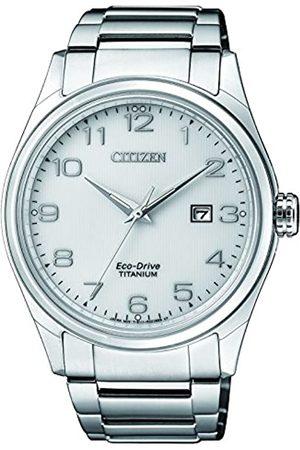 Citizen Citizen Herren Datum klassisch Solar Uhr mit Titan Armband BM7360-82A