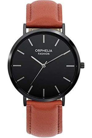 ORPHELIA Orphelia Fashion Herren Analog Quartz Uhr Forest mit Leder Armband