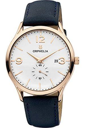 ORPHELIA Orphelia Herren-Armbanduhr Tiempo Analog Quarz Leder
