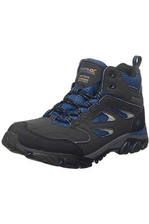 Regatta Damen Holcombe IEP Mid Walking Shoe, Ash/BlueOpal