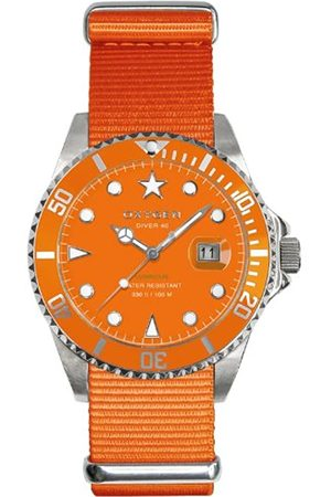 Oxygen Oxygen Unisex-Armbanduhr Analog Quarz Nylon EX-D-SEA-40-OR