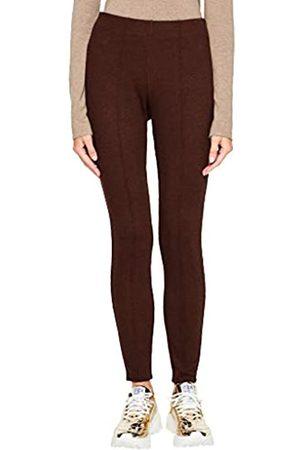 s.Oliver S.Oliver BLACK LABEL Damen Jerseyhose mit Strukturmuster brown 42