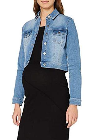 Noppies Damen Jeans Jacket Baukje Umstandsstrickjacke