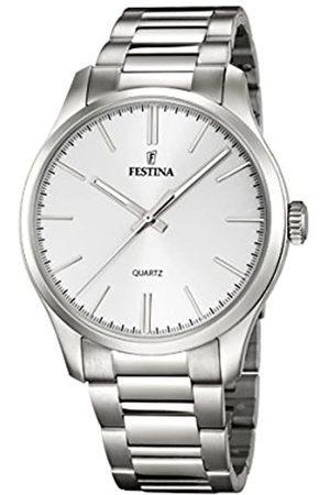 Festina Festina Herren Analog Quarz Uhr mit Edelstahl Armband F16807/1