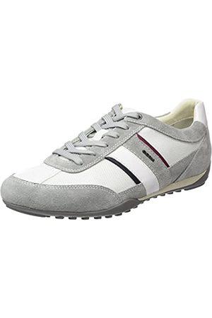 Geox Geox Herren U Wells C Sneaker, Grau (Lt Grey/White)