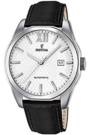 Festina Festina Herren Analog Automatik Uhr mit Leder Armband F16885/2