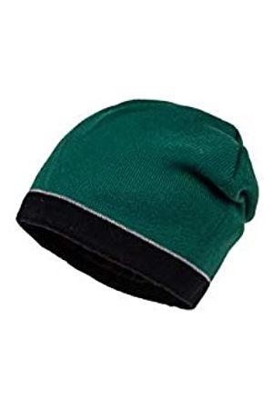 maximo Maximo Jungen randlos und wendbar mit Schrift Mütze