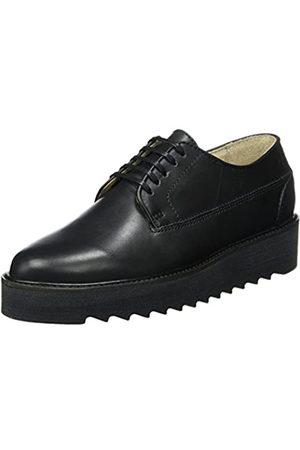 Marc O' Polo Marc O'Polo Damen Lace Up Shoe 70814243401125 Oxfords, Schwarz (Black)