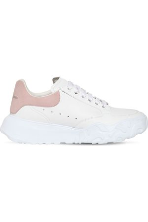 "Alexander McQueen 45mm Hohe Ledersneakers ""court"""