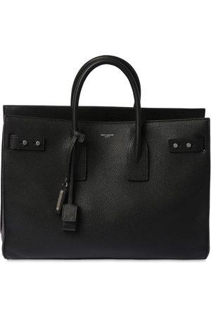 Saint Laurent Logo Slim Leather Bag