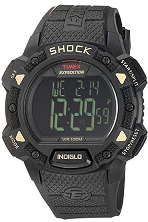 Timex Timex Herren-Armbanduhr XL Full Pusher Shock CAT Digital Resin T49896
