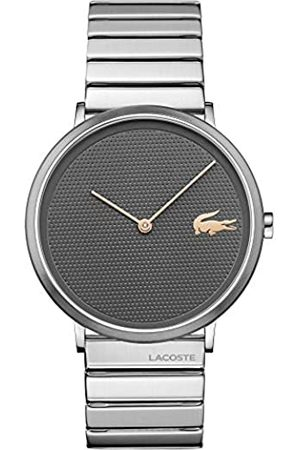 Lacoste Lacoste Unisex Analog Quarz Uhr mit Edelstahl Armband 2010954