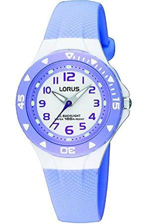 Lorus Lorus Mdchen Analog Quarz Uhr mit Kautschuk Armband RRX51CX9