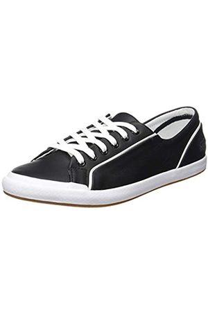 Lacoste Lacoste Unisex-Kinder Lancelle Lace 6 Eye 731SPW001202 Sneaker, Mehrfarbig (Black,White 001)