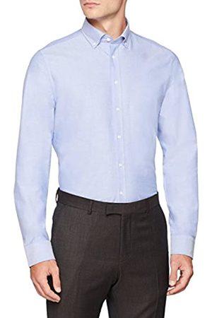 Seidensticker Herren Slim Langarm mit Button-Down Kragen Soft Uni Smart Business Businesshemd