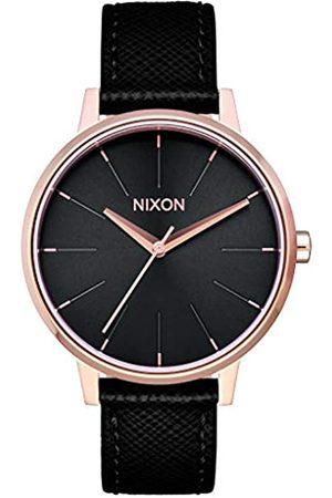 Nixon Nixon Herren Analog Quarz Uhr mit Leder Armband A1081098-00