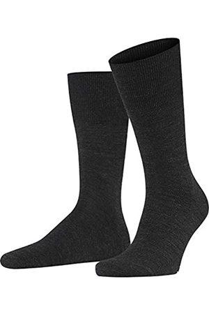 Falke Herren Socken & Strümpfe - Herren Airport M SO Socken, Blickdicht (Anthracite Melange 3080)