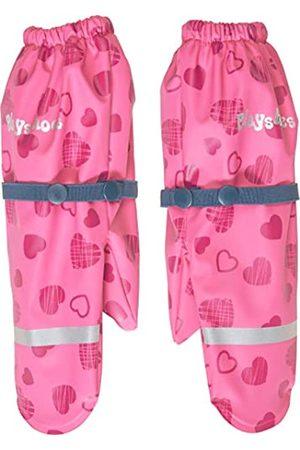 Playshoes Mädchen Matschhandschuh mit Fleece-Futter Herzchen Handschuhe