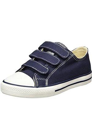 victoria Victoria Unisex-Kinder Zapato Basket Velcros Sneakers, Blau (Marino)