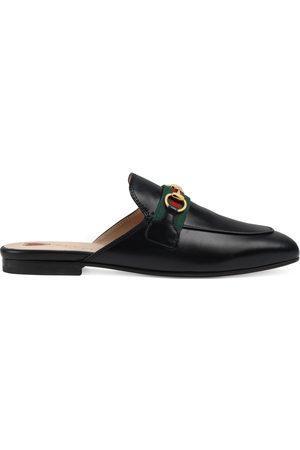 Gucci Damen Halbschuhe - Princetown Damen-Slipper aus Leder