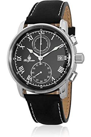 Burgmeister Burgmeister Herren Chronograph Quarz Uhr mit Leder Armband BM334-122
