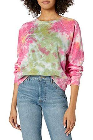 THE DROP Damen Sweatshirts - Damen Caroline Sweatshirt aus Fleece, mit Langen Raglanärmeln