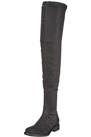 Pollini Damen Elastic Socks Overknees, (Black 000)