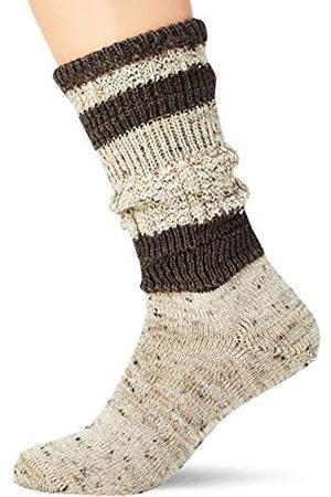 Lusana Herren Kurz-Loferl Loden Tweed Trachtenstrümpfe