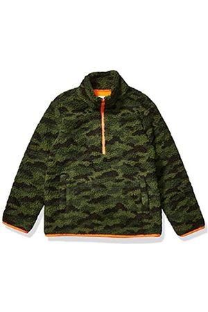 Amazon Amazon Essentials Quarter-Zip High-Pile Polar Fleece outerwear-jackets, Camo Print