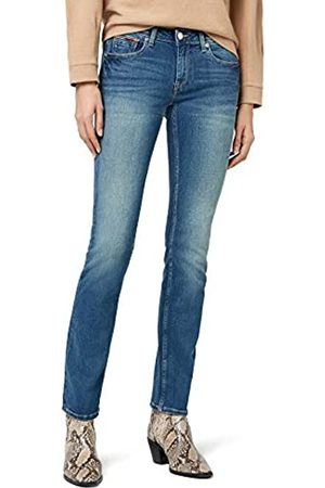 Tommy Hilfiger Tommy Jeans Damen Mid Rise Sandy Straight Leg Jeans W24/L32