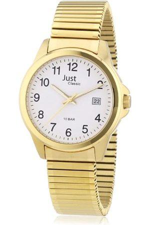 Just Watches Just Watches Herren-Armbanduhr XL Analog Edelstahl 48-S2307B-GD