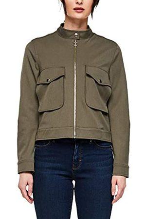 s.Oliver S.Oliver BLACK LABEL Damen Jacke mit aufgesetzten Taschen olive 38